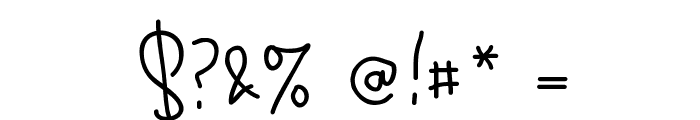 Ekologie Hand PERSONAL USE Font OTHER CHARS