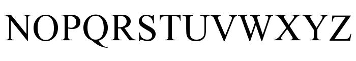 Ekushey Mohua Normal Font UPPERCASE