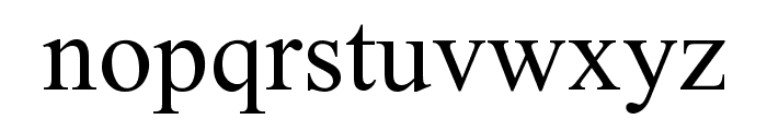 Ekushey Mohua Normal Font LOWERCASE