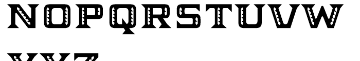 Ekeras V2 Regular Font UPPERCASE