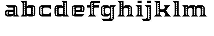 Ekeras V2 Regular Font LOWERCASE