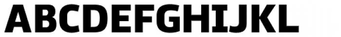 Ekibastuz Heavy Font UPPERCASE