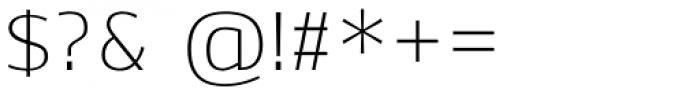 Ekibastuz Light Font OTHER CHARS