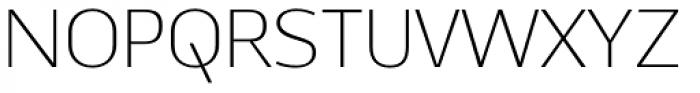 Ekibastuz Light Font UPPERCASE