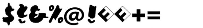 Ekttor Bold Font OTHER CHARS