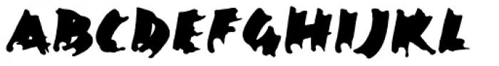 Ekttor Bold Font UPPERCASE