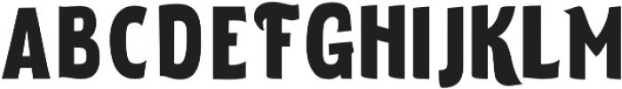 ELDERWEISS Black Condensed otf (900) Font LOWERCASE