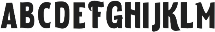 ELDERWEISS Black Extra Condensed otf (900) Font LOWERCASE
