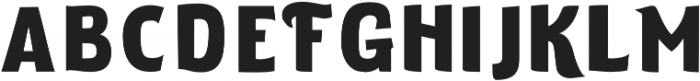 ELDERWEISS Black Extra Expanded otf (900) Font LOWERCASE