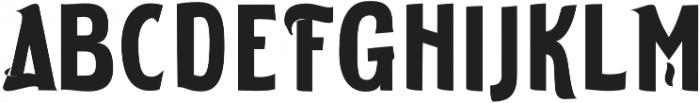 ELDERWEISS Bold Condensed otf (700) Font UPPERCASE