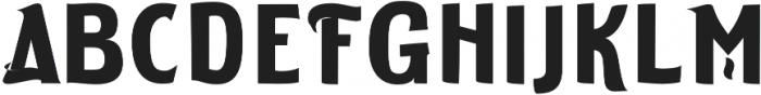 ELDERWEISS Bold Expanded otf (700) Font UPPERCASE