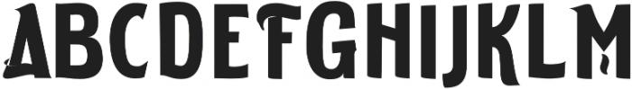 ELDERWEISS Bold Semi Condensed otf (700) Font UPPERCASE