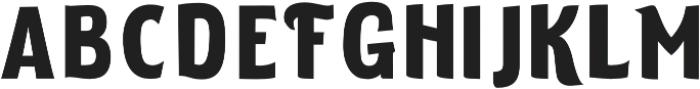 ELDERWEISS Bold Semi Expanded otf (700) Font LOWERCASE