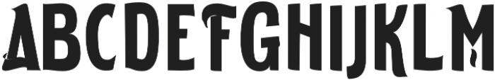 ELDERWEISS Bold Ultra Condensed otf (700) Font UPPERCASE