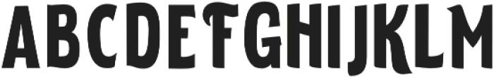 ELDERWEISS Bold Ultra Condensed otf (700) Font LOWERCASE