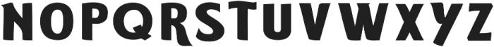 ELDERWEISS Bold Ultra Expanded otf (700) Font LOWERCASE