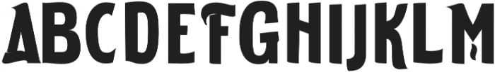 ELDERWEISS Extra Bold Condensed otf (700) Font UPPERCASE