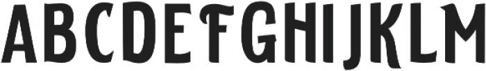 ELDERWEISS Extra Condensed otf (400) Font LOWERCASE