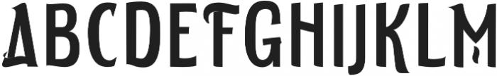ELDERWEISS Medium Extra Condensed otf (500) Font UPPERCASE