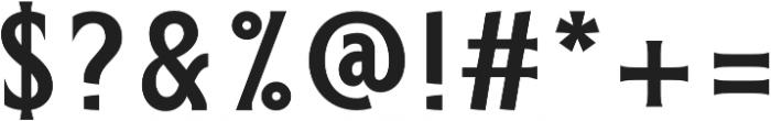 ELDERWEISS Medium Semi Condensed otf (500) Font OTHER CHARS