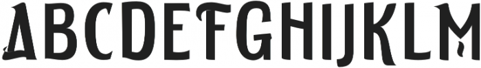 ELDERWEISS Medium Semi Condensed otf (500) Font UPPERCASE