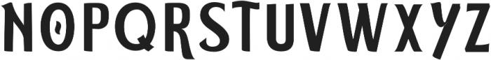 ELDERWEISS Medium Semi Expanded otf (500) Font UPPERCASE