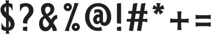 ELDERWEISS Semi Bold Condensed otf (600) Font OTHER CHARS
