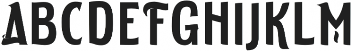 ELDERWEISS Semi Bold Condensed otf (600) Font UPPERCASE