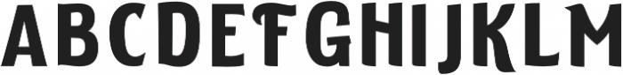 ELDERWEISS Semi Bold Expanded otf (600) Font LOWERCASE