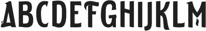 ELDERWEISS Semi Bold Extra Condensed otf (600) Font UPPERCASE