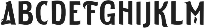 ELDERWEISS Semi Bold Semi Condensed otf (600) Font UPPERCASE