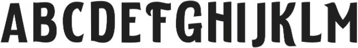 ELDERWEISS Semi Bold Semi Condensed otf (600) Font LOWERCASE
