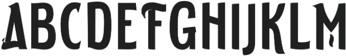 ELDERWEISS Semi Bold Ultra Condensed otf (600) Font UPPERCASE