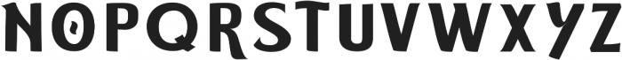 ELDERWEISS Semi Bold Ultra Expanded otf (600) Font UPPERCASE