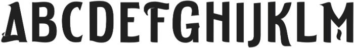 ELDERWEISS Semi Bold otf (600) Font UPPERCASE