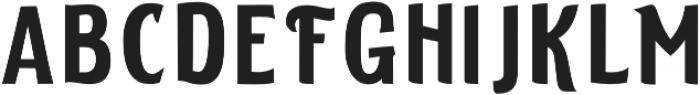 ELDERWEISS Semi Condensed otf (400) Font LOWERCASE