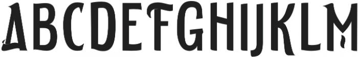ELDERWEISS Ultra Condensed otf (900) Font UPPERCASE