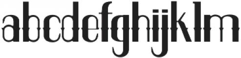 ELPIDA LEAN Regular otf (400) Font LOWERCASE