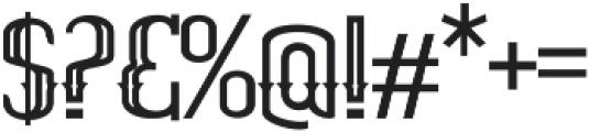 ELPIDA OUTLINE Regular otf (400) Font OTHER CHARS