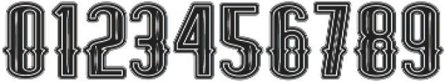 ELPIDA VINTAGE Regular otf (400) Font OTHER CHARS