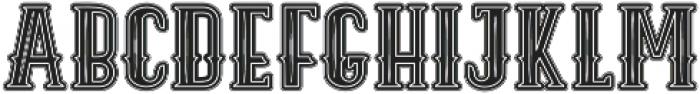 ELPIDA VINTAGE Regular otf (400) Font UPPERCASE