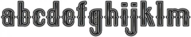ELPIDA VINTAGE Regular otf (400) Font LOWERCASE