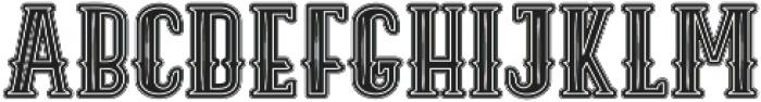 ELPIDA VINTAGE Regular ttf (400) Font UPPERCASE