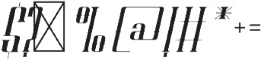 ELVINO Regular otf (400) Font OTHER CHARS