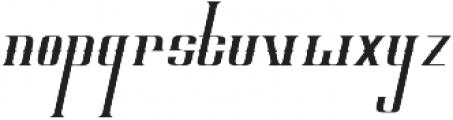 ELVINO Regular otf (400) Font LOWERCASE