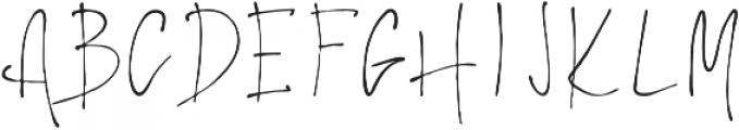 Elantris otf (400) Font UPPERCASE