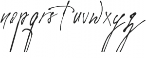 Elantris otf (400) Font LOWERCASE