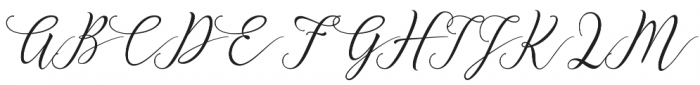 Elastic otf (400) Font UPPERCASE