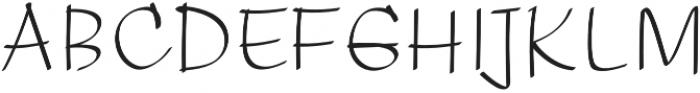 ElasticaRoman otf (400) Font UPPERCASE