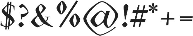Eldamar Font Bold otf (700) Font OTHER CHARS